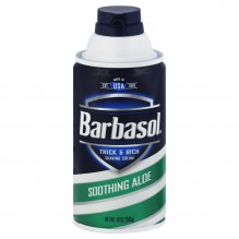 BARBASOL 10 OZ ALOE