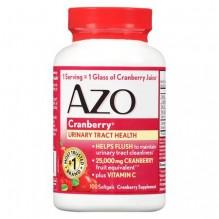 AZO CRANBERRY SOFTGELS 100 CT