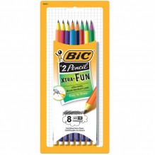 BIC FUN PENCIL 8CT