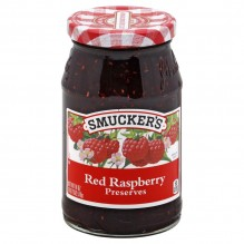 SMUCKERS RED RASPBRY PRESRV 18Z