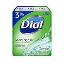 DIAL SOAP 4 OZ 18/3PK MTN FR