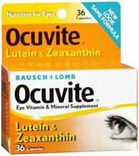 OCUVITE 36'S CAP W/LUTIENE