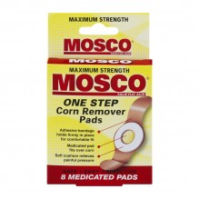 MOSCO CORN REMOVER PADS 8CT