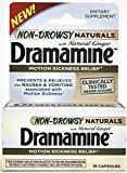 DRAMAMINE NATURAL NON-DROWSY 18
