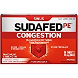 SUDAFED SINUS CONG M/S TAB 36S