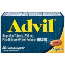 ADVIL CAPLETS 50'S