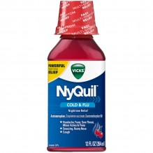 NYQUIL 12 OZ CHERRY LIQUID