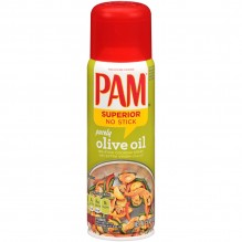 PAM SPRAY OLIVE OIL 5 OZ