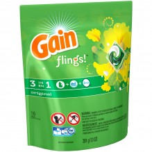 GAIN FLINGS ORIG 16CT