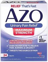 AZO MAX STRENGTH 24 CT