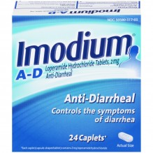 IMODIUM A-D CAPLETS 24 CT