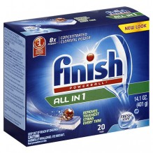 FINISH POWERBALL 20CT FRSH SCNT
