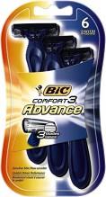 BIC COM 3 ADVANCED 6PK