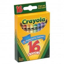 CRAYOLA CRAYONS 16'S
