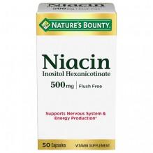 N/B #1660 NIACIN 500MG