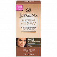 JERGEN NAT GLOW FACE M/T 2OZ