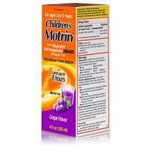 MOTRIN/CHILD GRAPE SUSP 4 OZ