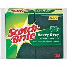 SCOTCH BRITE H-DTY SCRB 6S #426