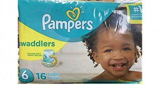 PAMPERS SWADDLER SZE 6 JMB 16CT