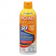 NO-AD CONT SPRY SPRT SPF30 10OZ