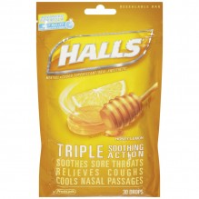 HALLS BAG 30'S HONEYLEMON