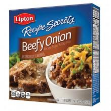 LIPTON BEEFY ONION SOUP/DIP 2PK