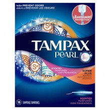 TAMPAX PEARL 18'S SUP/PLS FRSH
