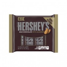HERSHEY W/ALMONDS 6-PACK 1X24