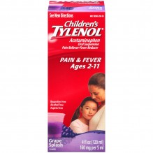 TYLENOL CHILD SUSP 4 OZ GRAPE