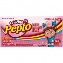 PEPTO BISMOL 24CT CHEW-CHILD