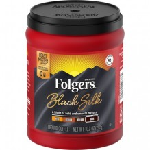 FOLGERS BLACK SLK COFFEE 10.3OZ