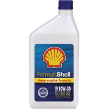 SHELL M/OIL 10W-30 32 OZ 12Q/C