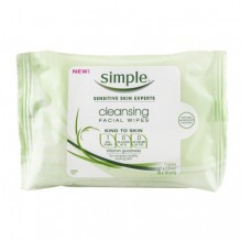 SIMPLE CLEANSE FACE WIPES 7CT