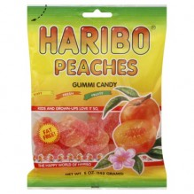 HARIBO 5 OZ BEARS PEACH 5OZ