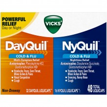 NYQUIL/DAYQUIL LIQ-CAPS 48CT