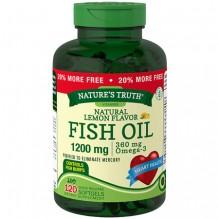 NATURE TRUTH FISH OIL 120CT LMN
