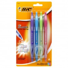BIC ATLANTIS BALL POINT FASH 4C
