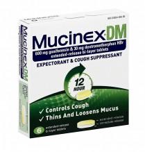 MUCINEX DM 6CT REG STRENGTH