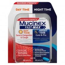 MUCINEX FAST-MX CAPS DAY/NT 30C