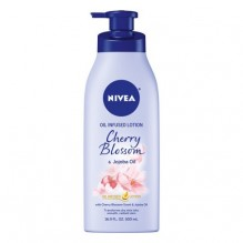 NIVEA 16.9OZ OIL INFUSED CHERRY