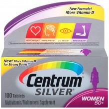 CENTRUM ULT SILVER WOMENS 100S