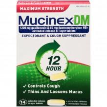 MUCINEX DM M/S 14 CT