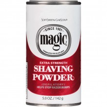 MAGIC SHAVE RED STRONG PDR 5 OZ