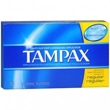 TAMPAX 10'S REGULAR FLUSHABLE