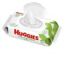 HUGGIESS NAT CARE WIPES REFL 56
