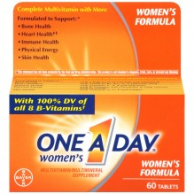 ONE A DAY WOMEN 60'S