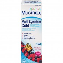 MUCINEX CHLD MULTI SYMP 4OZ BRY