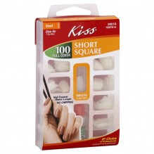KISS FULL COVER NAILS 100 CT