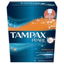 TAMPAX PEARL 18'S SUP/PLS UNSC