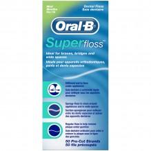 ORAL B SUPER FLOSS 50'S MINT